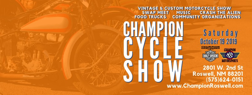champion cycle show