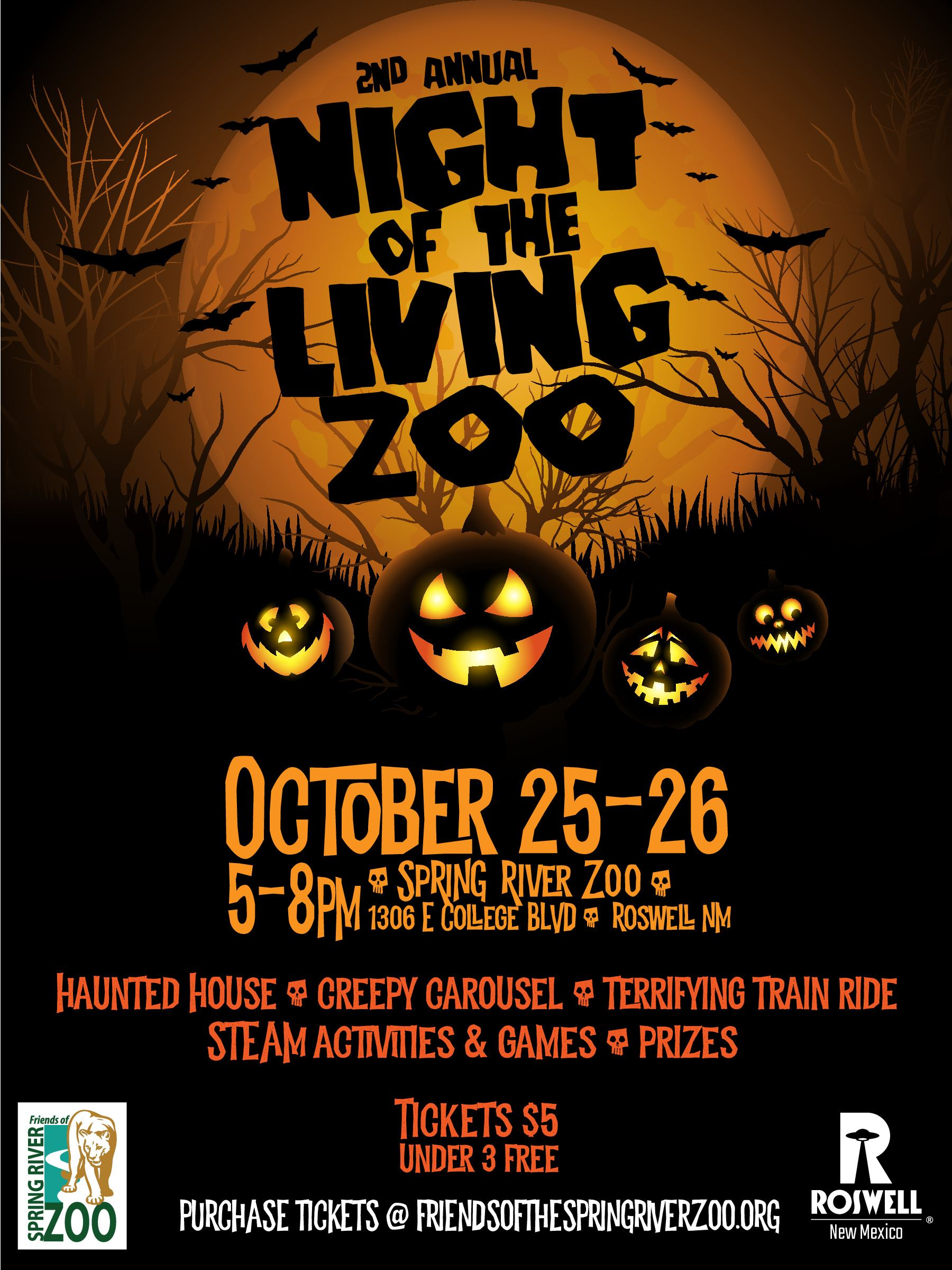 Night of the Living Zoo