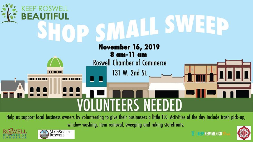 Shop Small Sweep
