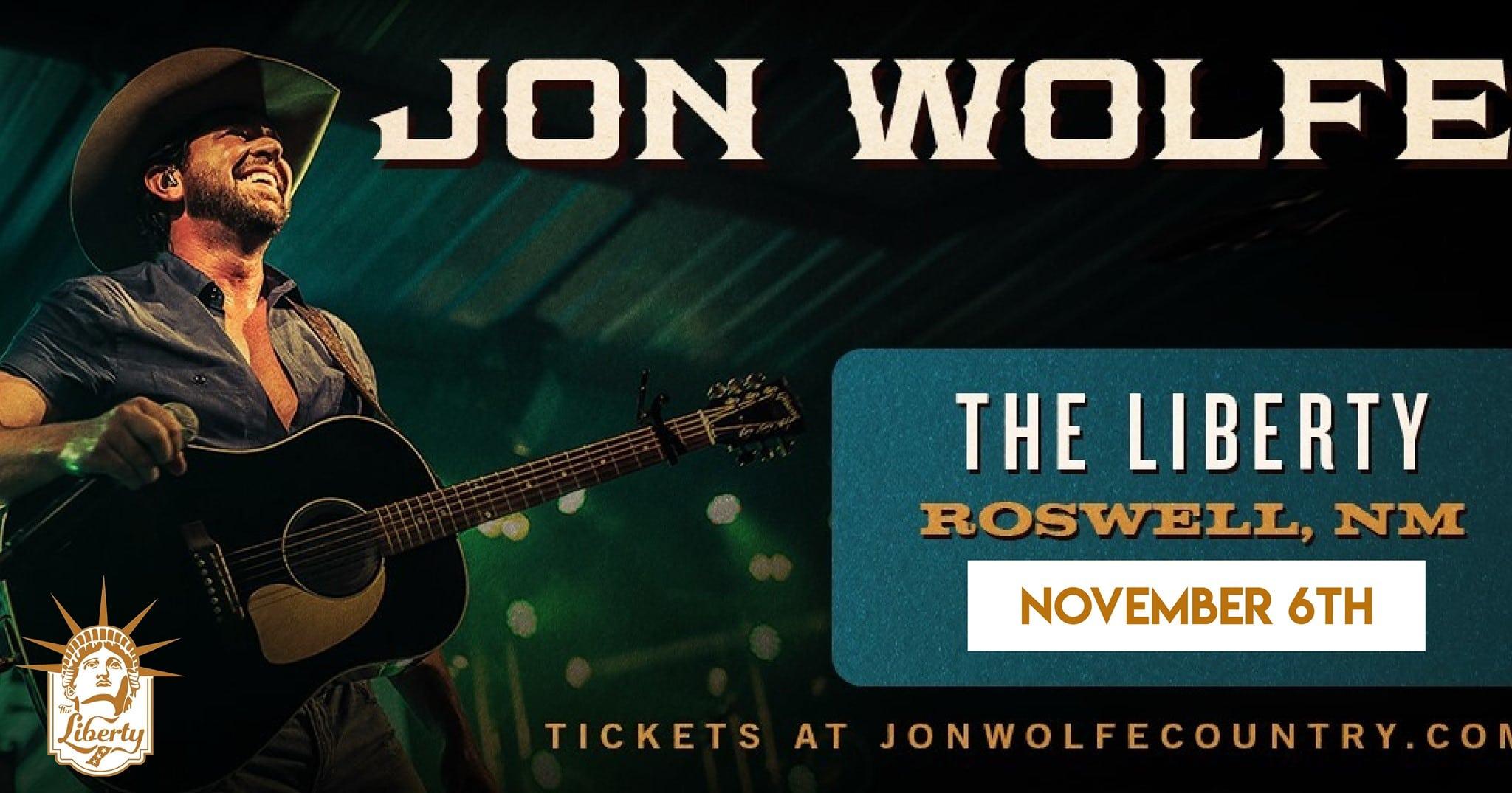 jon wolfe in concert