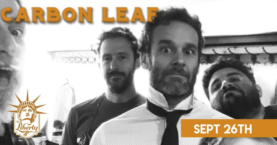 thrpicture of carbon leaf band