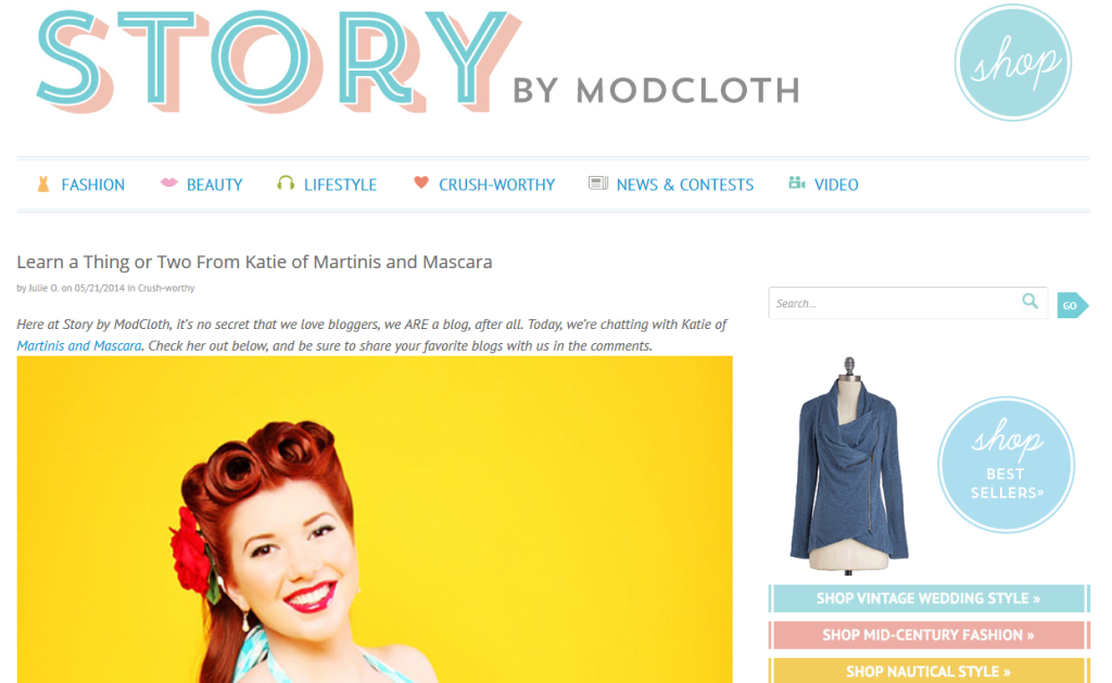 modcloth feature