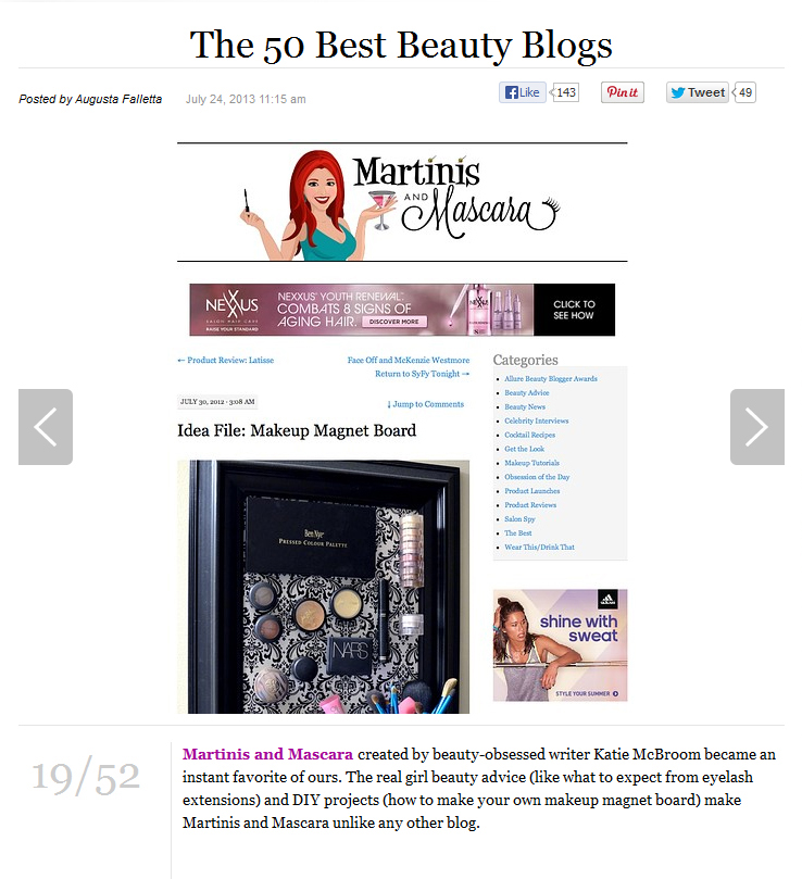 Top 50 Beauty Blogs