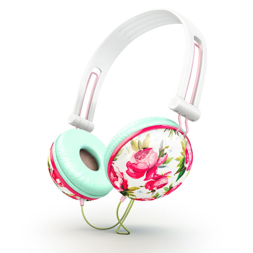 Ankit Floral Headphones