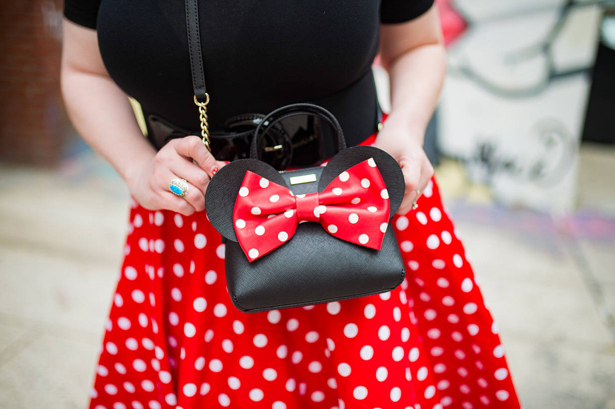 Kate Spade Minnie Mouse Purse