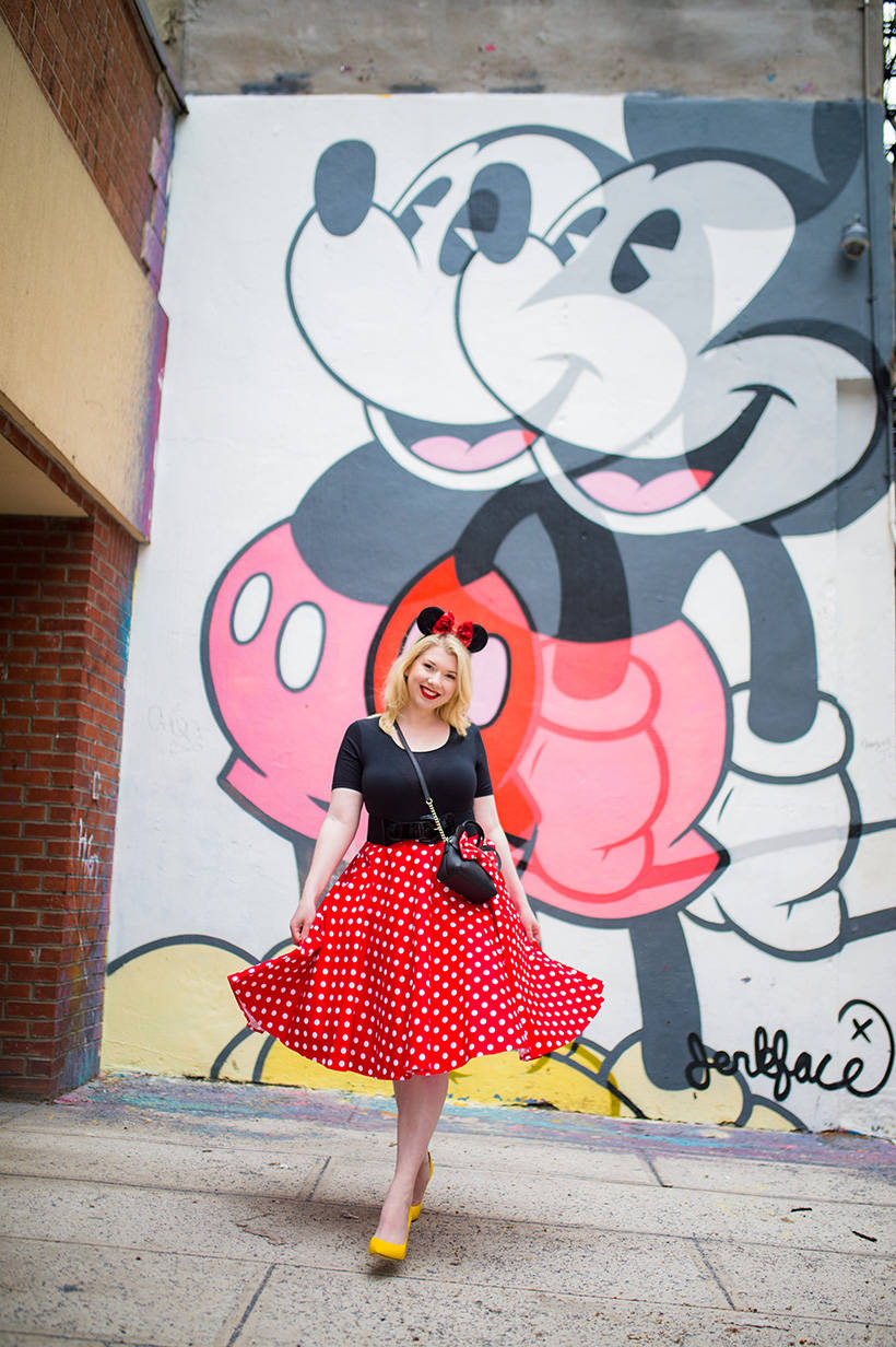 Minnie Mouse Outfit Disneybound Dapper Day