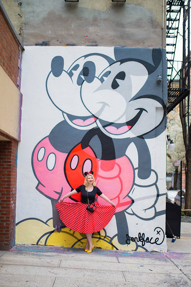 NYC Mickey Mural