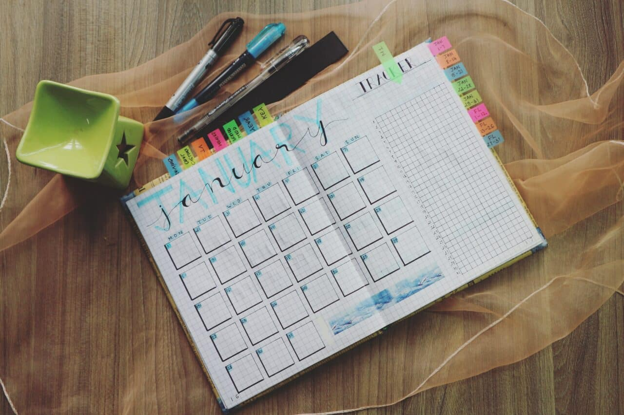 Work-at-home mom schedule that works