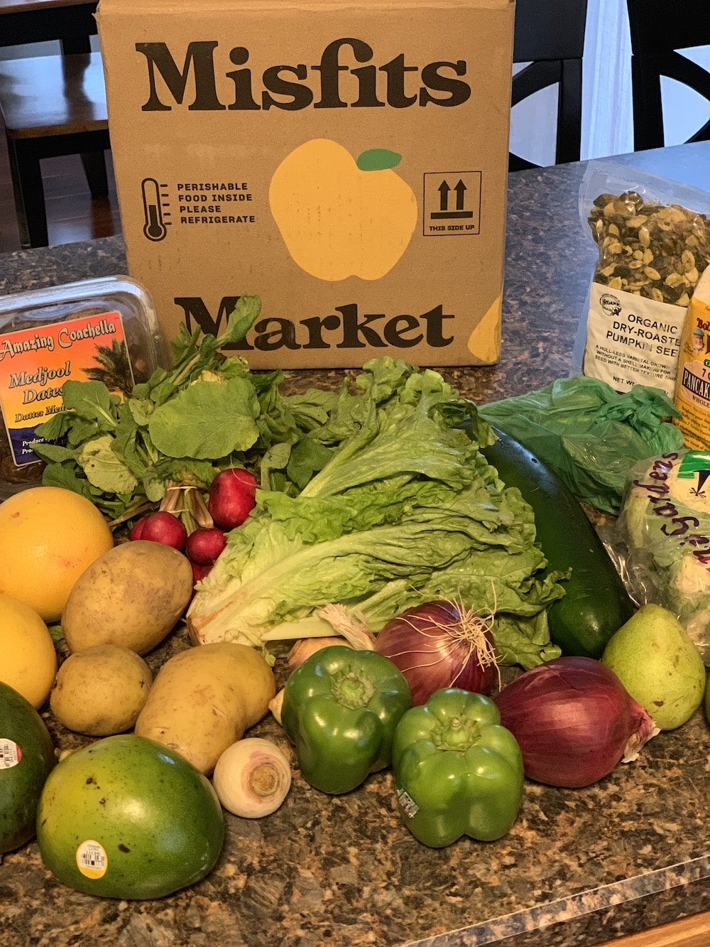 Misfits Market review for work-at-home moms