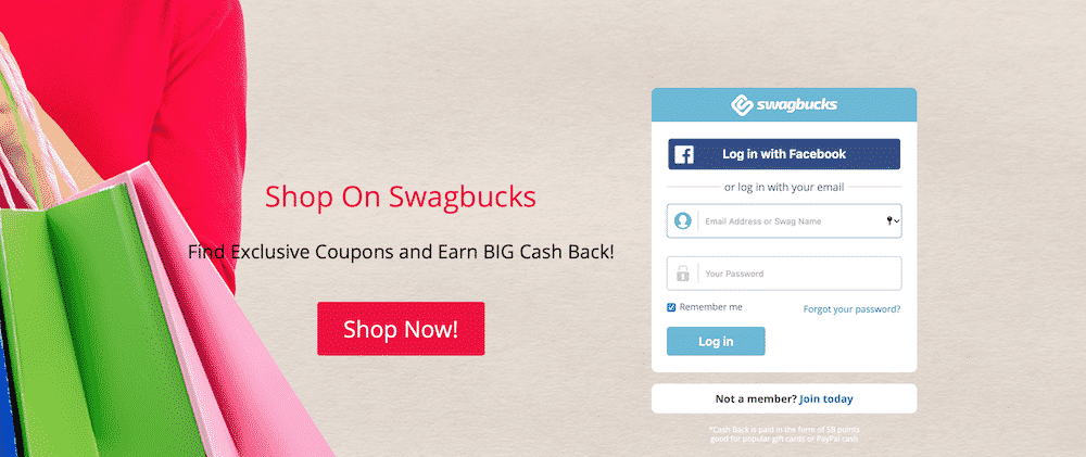 Stay-at-home mom side income ideas-best way to earn Swagbucks with minimal effort
