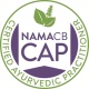 NAMA Certified Ayurvedic Practitioner Badge Logo
