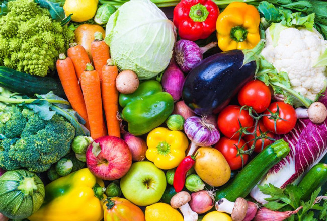 Ayurveda's Healing Power of fruits and vegetables