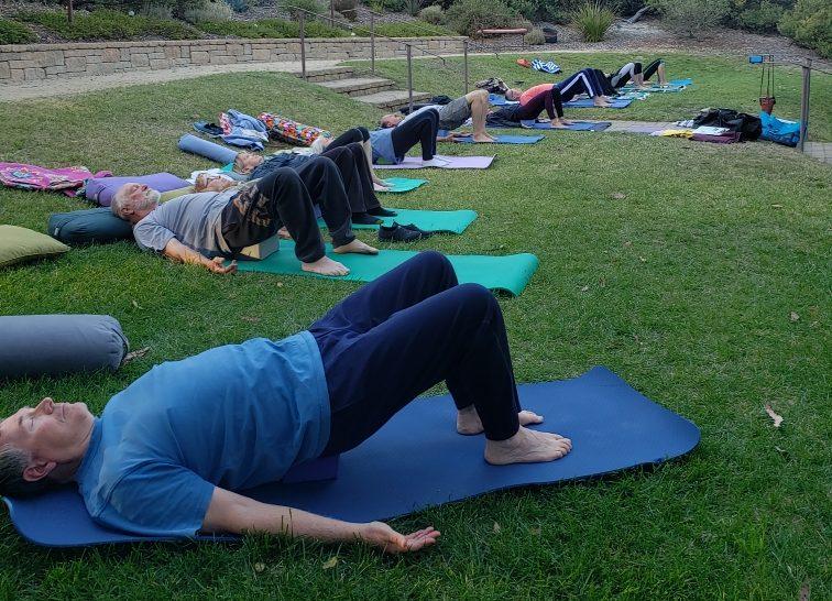 Yoga Outdoors Balanced Living Central Coast