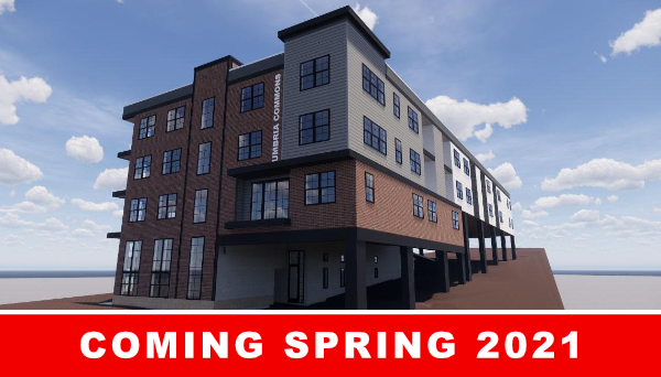 UMBRIA apartments coming soon