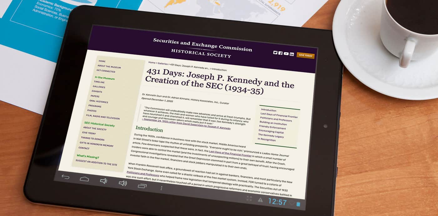 431 Days: Joseph P. Kennedy and the Creation of the SEC