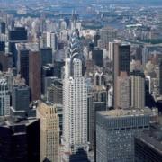 Walter Chrysler building in Manhattan, New York City, NY