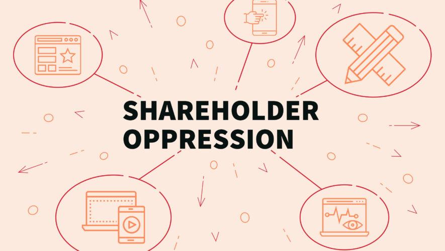 Shareholder oppression graphic