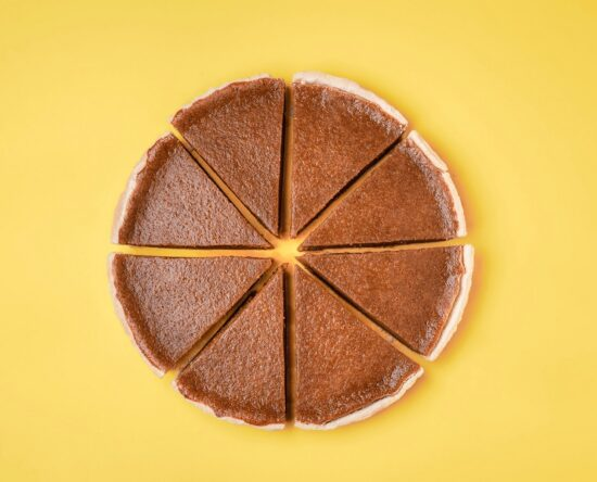 Picture of cut pie