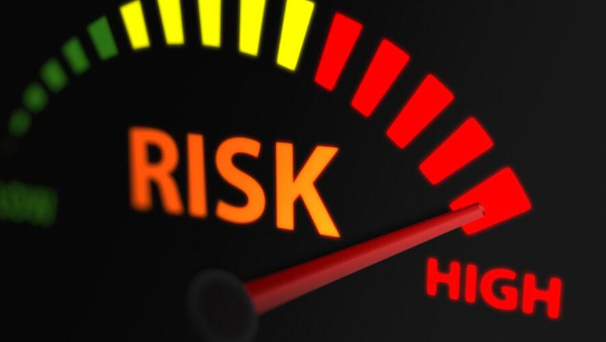 Risk meter set at high