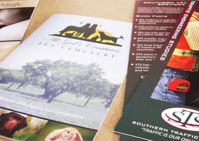 Brochures and Rack Cards