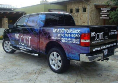 The Joint Chiropractic Vehicle Wrap