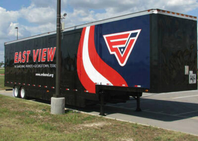 East View Patriot Band Trailer Graphics