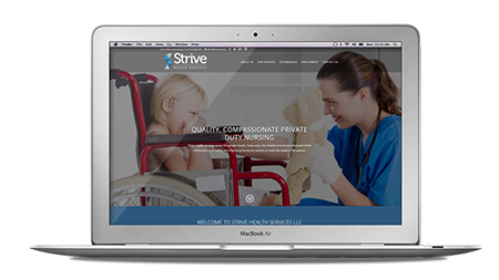 Website launched for Strive Health Services