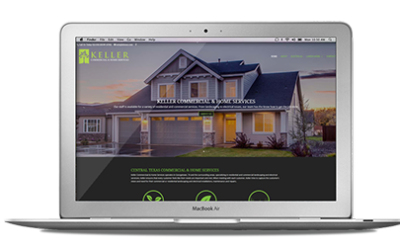 New website for Keller Services