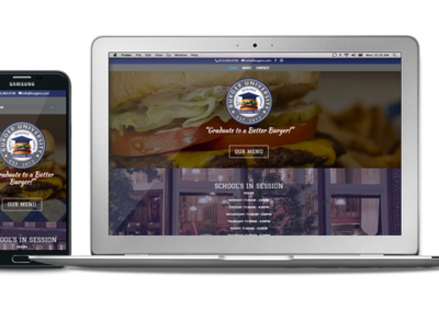 Responsive Web Design Burger University