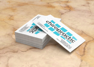 Chiropractic Center Of Georgetown Business Cards