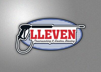 Lleven Powerwashing & Dustless Blasting Logo