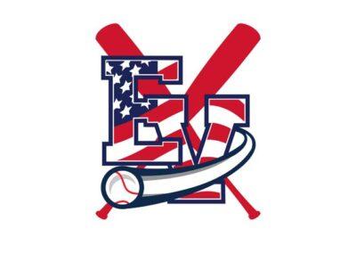 East View Patriot Baseball Logo