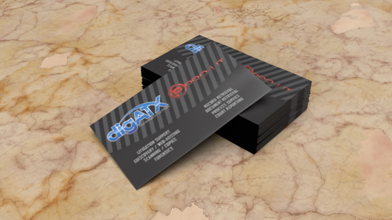 Digatx/Prolit Business Cards