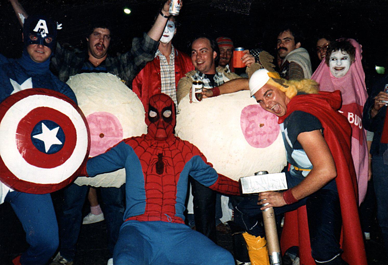 12Marvel Superheroes Tits SIU Halloween