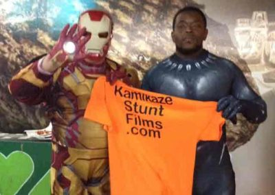 Iron Man & Black Panther