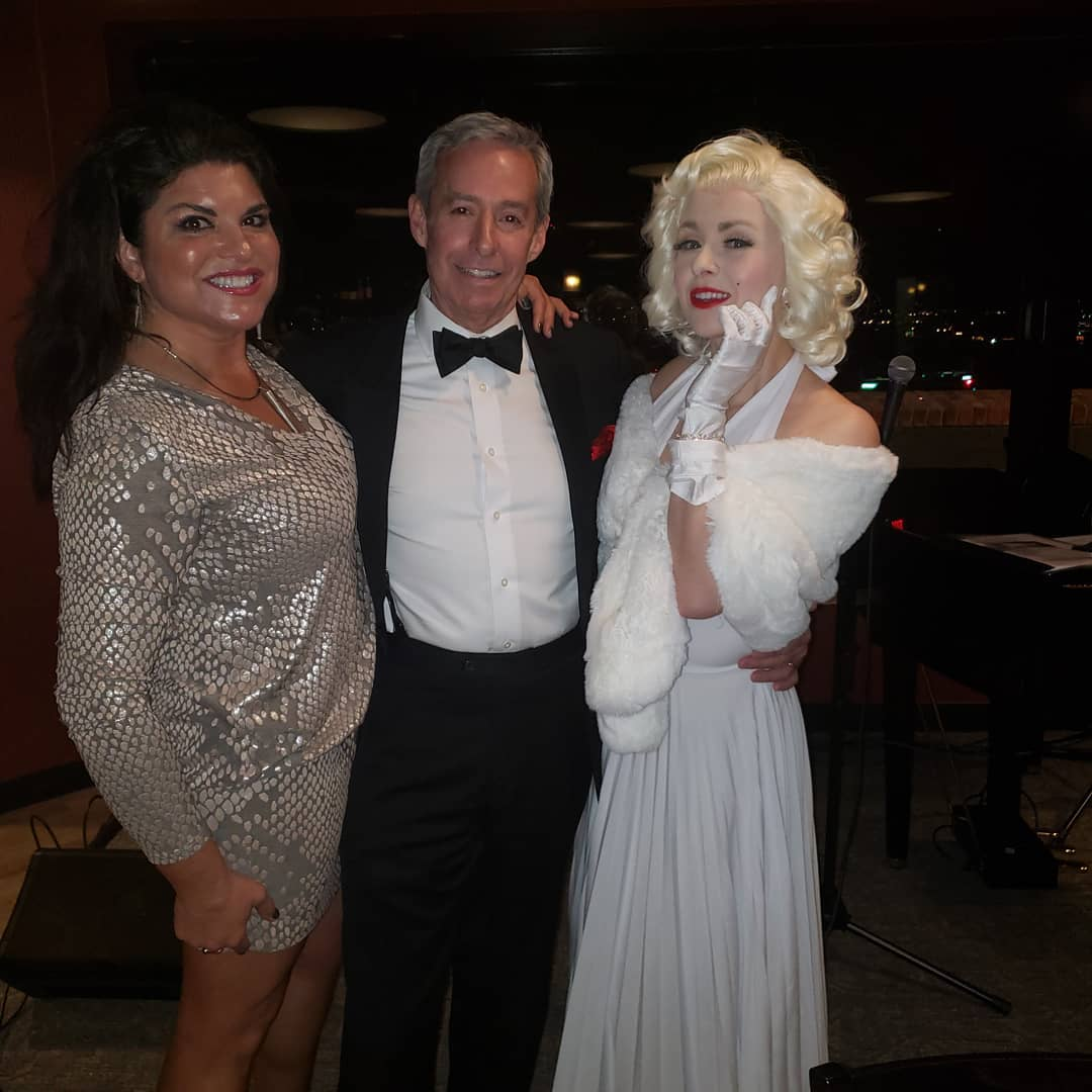 Steven with Cat and Marilyn at Martini's