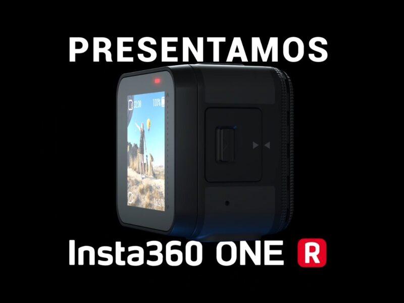 La nueva cámara de acción modular Insta360 One R llega al Perú