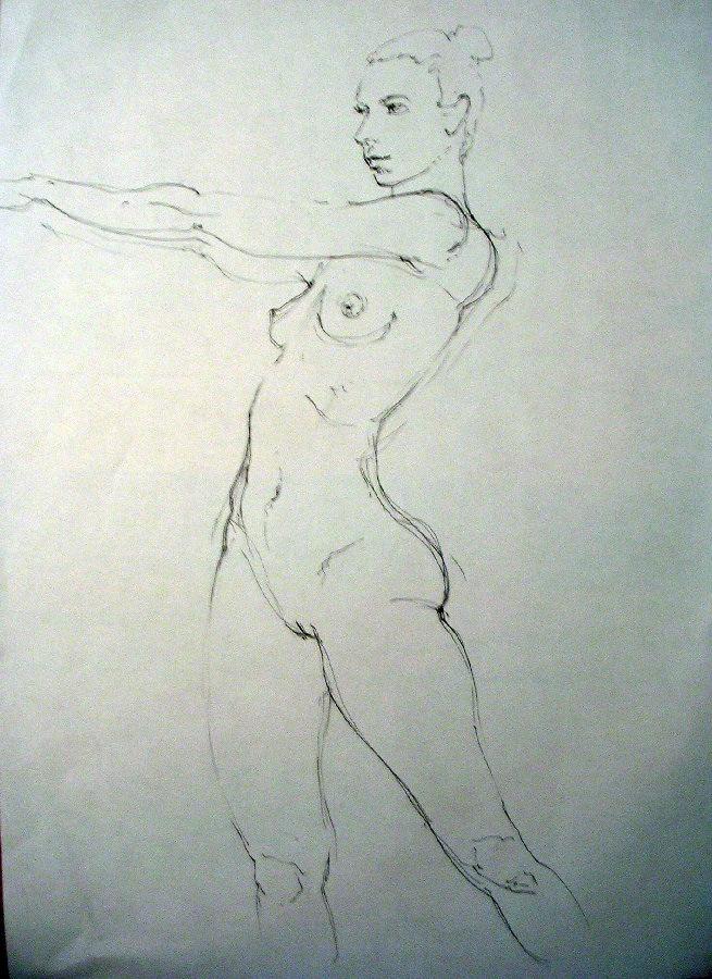 dancer 3 pencil
