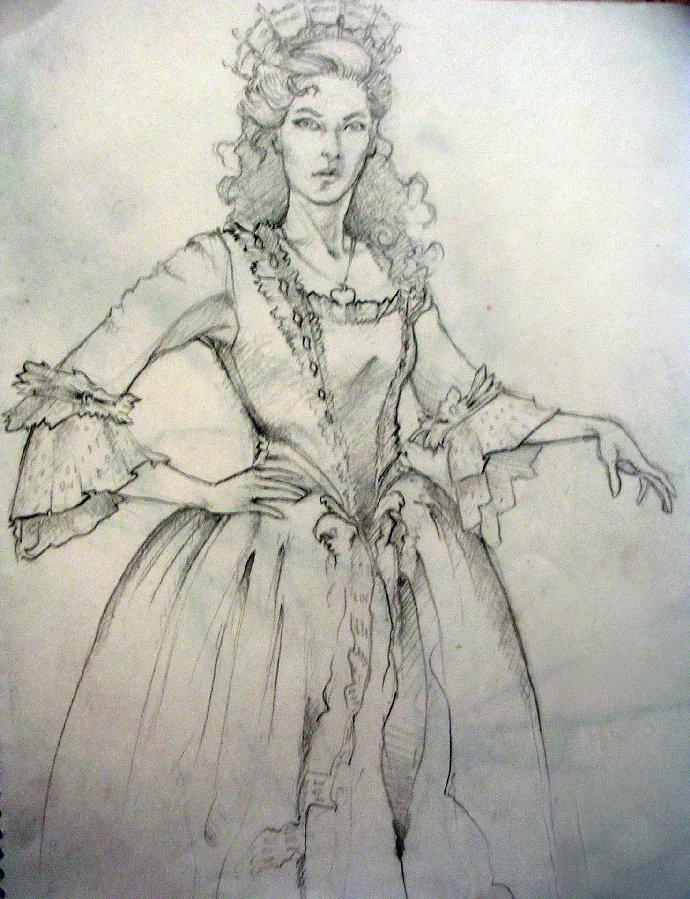 princess Angelina pencil