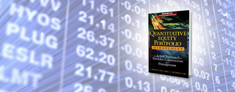 Quant Equity Portfolio Management