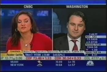 CNBC Interview about 2005 Nobel Prize in Economics