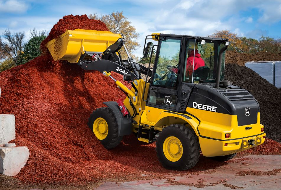 John Deere 244K-II Compact Wheel Loader Construction Equipment