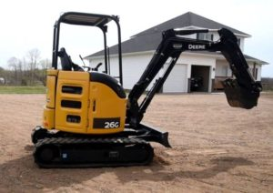 John Deere 26G Compact Excavator