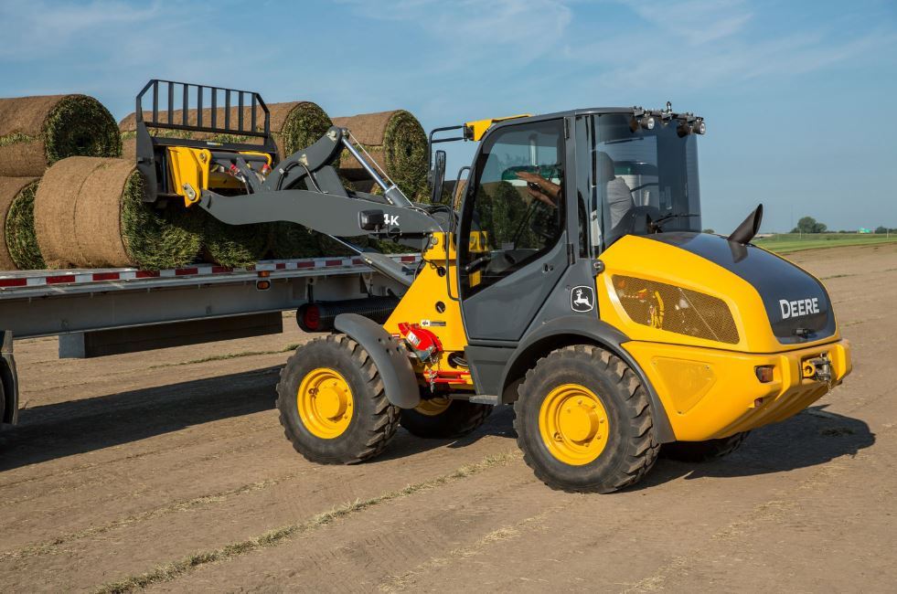 John Deere 304K Compact Wheel Loader Construction Equipment
