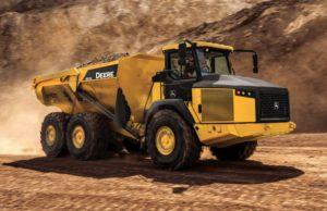 John Deere 410E Articulated Dump Truck price