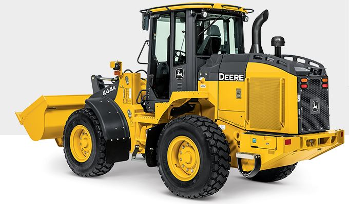 John Deere 444K Small Wheel Loader Construction Equipment