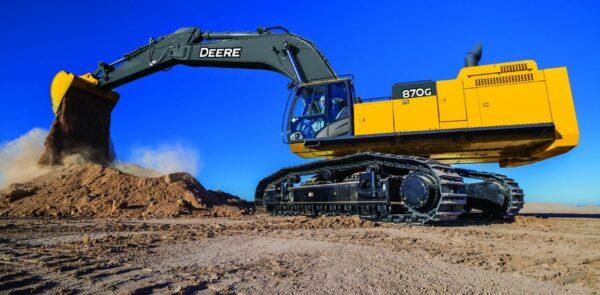 John Deere 870G LC Excavator