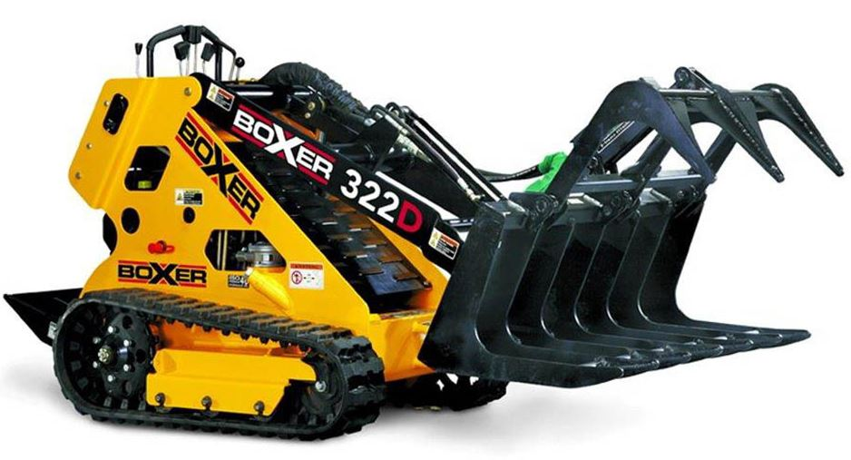 Boxer 322D Mini-Skid Steer Specifications