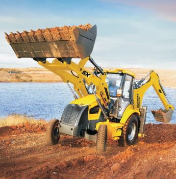 Mahindra EarthMaster 4WD Backhoe Loader Superior Productivity and Performance