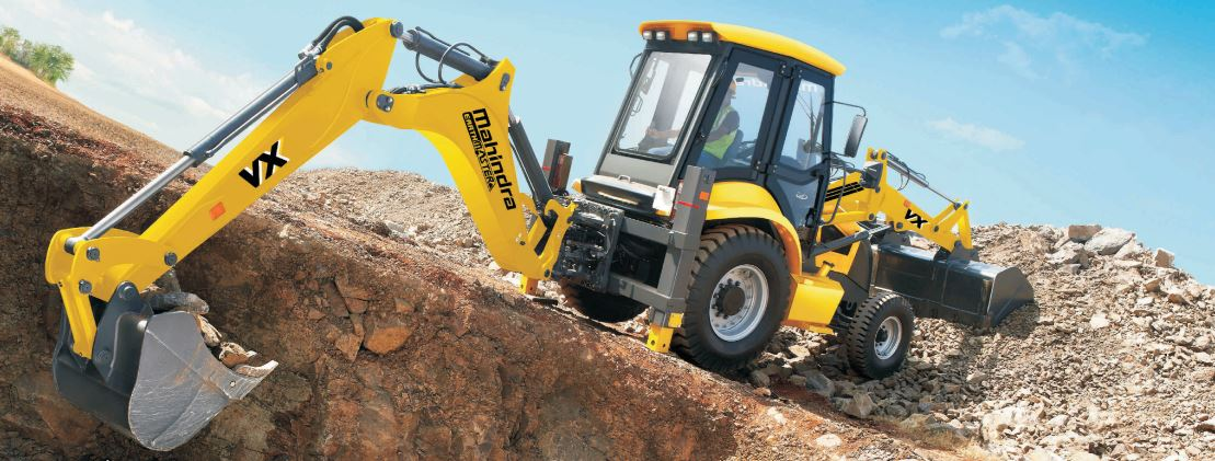 Mahindra EarthMaster VX Backhoe Loader Construction Equipment